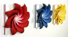 Paper Art - 100 Extraordinary Examples of Paper Art | Webdesigner Depot  I'm determined to make these!