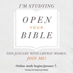 LifeWay Women All Access — Open Your Bible Online Bible Study | Sign Up!