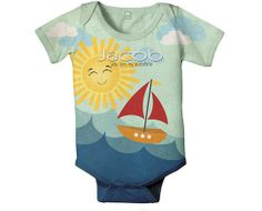 Custom Baby Boy One-sies by Simply Sublime Baby | Hatch.co