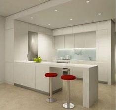 Decoración Minimalista y Contemporánea: Cocinas minimalistas #fachadasminimalistasdepartamentos