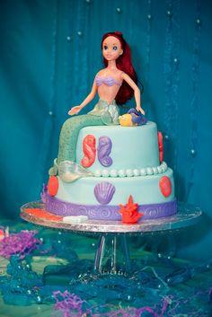Sally Seymore: Children: Aerial (little mermaid) birthday party