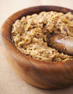 Eggplant Vegetarian Chopped Liver: Eggplant Chopped Liver
