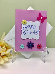 A personal favorite from my Etsy shop https://www.etsy.com/listing/498362162/happy-birthday-card-birthday-greeting