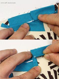 assembler passepoil couture