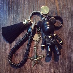 Free Shipping 2016 NEW Full Rhinestones gloomy bear key ring cross keychain Lovely Holiday Gifts Car Keyring Key Chain chaveiro //Price: $9.99 & FREE Shipping //     #hashtag4