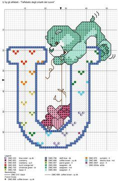 alfabeto degli orsetti del cuore: U