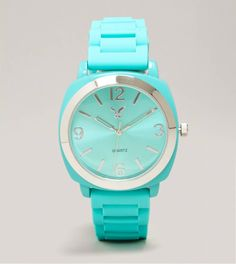 AEO Mint Rubber Watch | American Eagle Outfitters