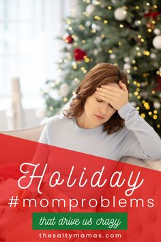 Holiday bustle got you down? You aren't alone. The holidays are busy and crazy and no one bears the brunt of it all more than a Mom! So come laugh away the stress with TheSaltyMamas.