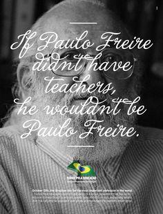 Todos pela Educação (All for Education Movement): Paulo Freire