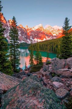 photo scenery Explore the most beautiful places in Canada . Moraine Lake Photo by Nature Aesthetic, Travel Aesthetic, Beautiful Places To Travel, Beautiful World, Wonderful Places, Landscape Photography, Nature Photography, Photography Tips, Aesthetic Photography Nature