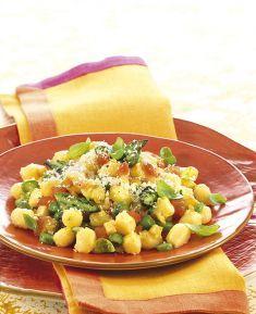 Gnocchetti agli asparagi e pomodori - Tutte le ricette dalla A alla Z - Cucina Naturale - Ricette, Menu, Diete