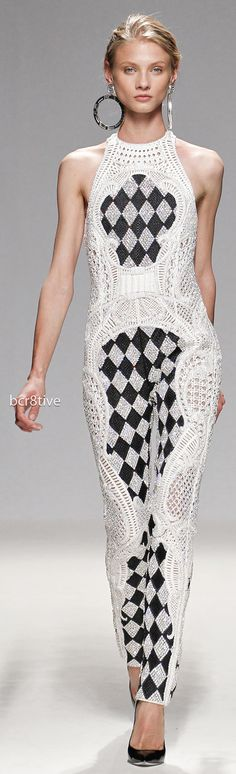 Balmain Spring Summer 2013 Ready to Wear - Full Length Photos- Full Length Photos | bcr8tive