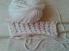 Maglia: Punto Finta Treccia in Pizzo-fake braids lace stitch-falso punto de encaje con trenzas - YouTube