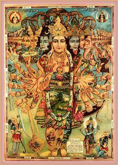 Hindu Gods Provide a Link with All Ancient Gods Hindu Art, Indian Gods, Indian Art, Tantra, Lord Vishnu Wallpapers, Hindu Deities, Hindu Vedas, Durga Goddess, Yoga