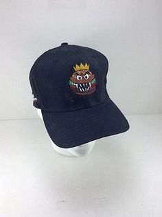 fd6baca88a4 Burger King Whopper Warrior Fiber-Optic SUPER RARE VINTAGE Snap Back Hat  NEW Burger King