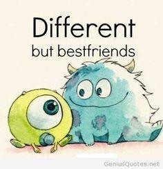 Different bestfriends quote on pinterest