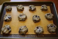 Blueberry Walnut Breakfast Cookies - dairy free, grain/gluten free, sugar free, soy free, egg free