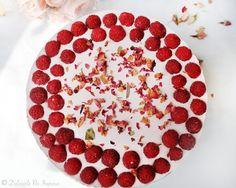 Cheesecake Fara Coacere cu Zmeura (fara zahar,100% sanatos, continut scazut de grasimi)