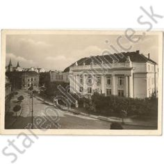 Stará pohľadnica Žilina, synagóga