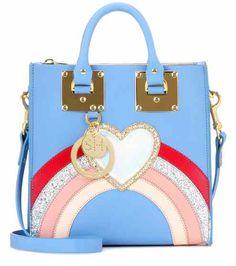 Multi Albion Square leather shoulder bag | Sophie Hulme