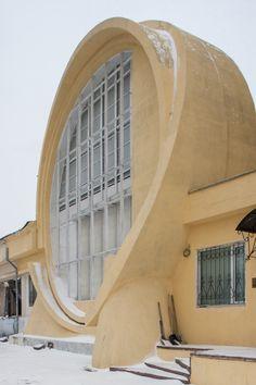 La Arquitectura de Konstantin Melnikov bajo el Lente de Denis Esakov