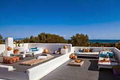decoración terraza ibicenca