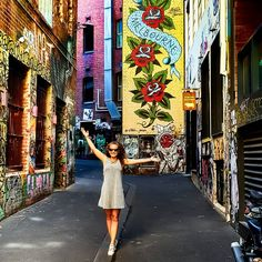 When you are so happy that you are dancing on the streets. 💃I'm so in love with Melbourne. Thats The Way, Melbourne Australia, Wanderlust Travel, Good Day, Travel Inspiration, Dancing, Fair Grounds, Memories, Street