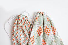 DIY Gym bags sewing