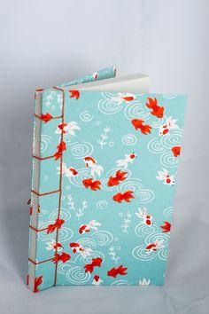 Koi Fish Japanese Stab Journal
