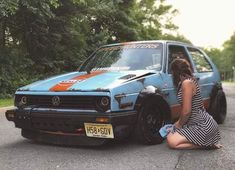 Volkswagen – One Stop Classic Car News & Tips Volkswagen Golf Mk2, Vw R32, Vw Caddy Mk1, Jetta A2, Golf 2, Vw Cars, Wide Body, Modified Cars, Rally Car