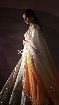 Bridal Lehenga Choli, Saree Look, Bridal Outfits, Indian Dresses, Indian Fashion, Ball Gowns, Weeding, Formal Dresses, Lady