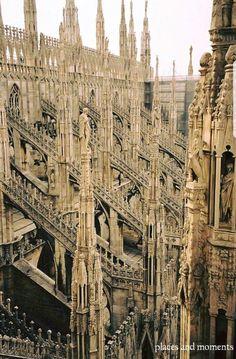 Techo de la catedral de Milan#