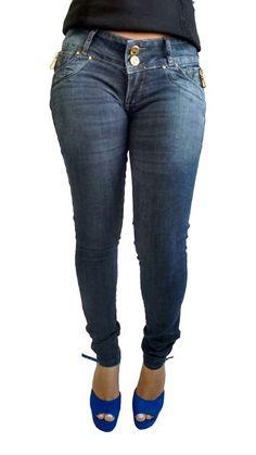 R.i.19 Calça Jeans Feminino Cigarrete