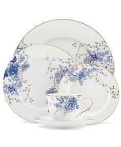 Lenox Garden Grove 5-Piece Place Setting - Fine China - Dining & Entertaining - Macy's