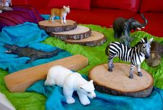 Strewing: creating a rich interesting, fun, hands-on environment for children to discover and run with.