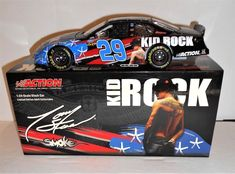 Tony Stewart #29 Kid Rock 2004 Monte Carlo 1 of 14,076 N I B 1:24 Scale $29.67 #ACTION #Chevrolet