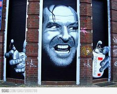 Shinning Street Art #grafitti