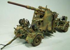 Dragon 1/35 scale 8.8cm Flak Gun by Detlef Frohlich