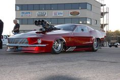 Blown Ford Mustang