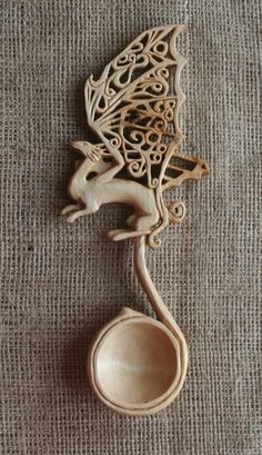 Your place to buy and sell all things handmade Wooden Spoon Carving, Carved Spoons, Wood Carving Art, Wood Spoon, Transfer Images To Wood, Welsh Love Spoons, Viking Runes, Celtic Art, Celtic Designs