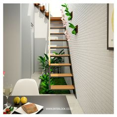 30 Simple Tiny House Interior Ideas for Inspiration – Homely Home Room Design, Home Interior Design, House Design, Interior Ideas, Exterior Design, Diy Home Office Furniture, Stairs In Kitchen, Tiny House Stairs, Minimalist Home