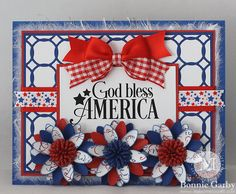 4th Of July Fireworks, God Bless America, 4th Of July Wreath, Favorite Color, Blessed, Ribbon, Bows, Cards, Tape