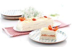 Receta de Pastel de verano con langostinos con pan Bimbo ®, una receta simple de preparar pero qeu encanta a todo el que lo prueba. 100% para el verano.