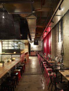 Mejico Restaurant interior