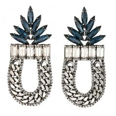 DANNIJO Amara Earrings. I love that they look like pineapples. You can't get more tropical than that!