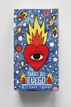 NEW Tarot Del Fuego Cards/Deck-Ricardo Cavolo-Fournier-Divination-SEALED #fournier #divination #sealed #cavolo #ricardo #fuego #cards #deck #tarot