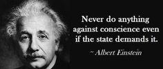Conscience - Einstein