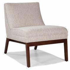 Valentine Armless Chair - Grade E Grey