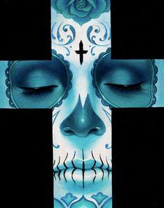 Sylvia Ji's Beautiful Day of the Dead Style Paintings: http://skullappreciationsociety.com/sylvia-jis-beautiful-paintings/ via @Skull_Society