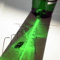 Ele utiliza sombras para completar suas ilustrações - Vincent Bal é um criativo que completa suas ilustrações com algo inusitado: a sombra de alguns objetos. Conheça seus trabalhos!